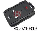 新款雪佛兰汽车3+1键遥控器壳