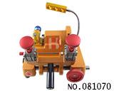 迷你卧式四面夹具铣齿机(12V,110V,220V)