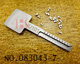 福克斯(HU101)汽车活动齿靠模匙