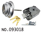 ATM柜洛加达密码锁(带转盘匙)型号:LG3390+2090