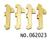 现代,起亚汽车锁芯内铣齿钥匙簧片(200片)