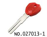 杜卡迪摩托车可装晶片立铣匙(红色)