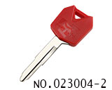 川崎摩托车钥匙外壳(红)