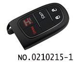 克莱斯勒,道奇,吉普汽车3+1键智能遥控匙壳