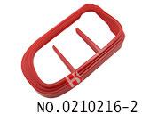 克莱斯勒、道奇、吉普汽车智能匙壳装饰圈(红色)