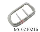 克莱斯勒、道奇、吉普汽车智能匙壳装饰圈(灰色)