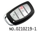 现代IX35,名图等汽车四键智能遥控匙壳