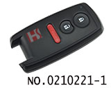 铃木汽车3键智能卡外壳(无商标)