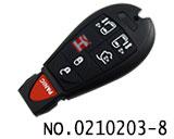 克莱斯勒,道奇,吉普等汽车5+1键智能遥控匙(美版)