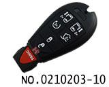 克莱斯勒,道奇,吉普等汽车6+1键智能遥控匙(美版)