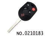 福特汽车4键遥控立铣匙壳