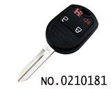 福特锐界、野马等汽车三键遥控钥匙(可变频)