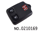 福特汽车二键遥控器外壳