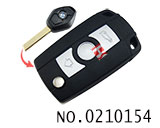 新款宝马汽车3键遥控改装折叠匙壳