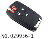 雪佛兰科鲁兹/英朗等汽车3键遥控折叠匙(433MHZ)