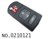 马自达M6汽车3键折叠遥控匙