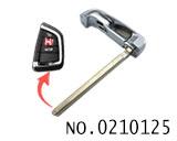 新款宝马X5汽车智能卡小钥匙