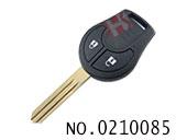 尼桑玛驰、阳光汽车2键遥控匙(433MHZ)
