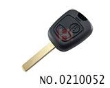 标致307汽车二键遥控匙壳(无标)