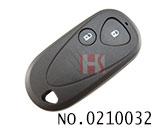 讴歌汽车2键遥控器外壳(无标