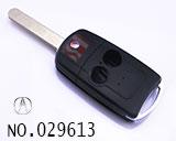 阿库拉汽车2键遥控折叠匙壳
