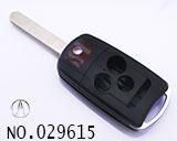 阿库拉汽车4键遥控折叠匙壳