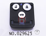 讴歌汽车3键遥控芯外壳