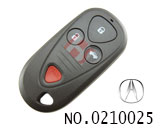 讴歌汽车3+1键遥控器外壳(无标
