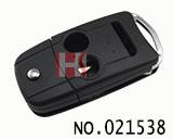 阿库拉汽车3键遥控折叠匙壳
