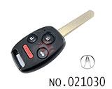 阿库拉汽车4键遥控晶片匙