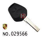 保时捷911汽车3键遥控匙壳