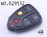富豪S80汽车5键遥控器外壳