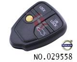 富豪S80汽车4键遥控器外壳(无标)
