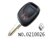 雷诺汽车一键遥控匙
