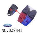 福特汽车4健遥控器按健胶皮