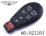 克莱斯勒汽车7键遥控智能匙