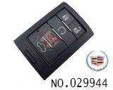 凯迪拉克SLS汽车五键智能遥控匙壳