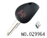 雷诺汽车可装晶片钥匙(无标)
