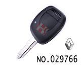 雷诺汽车一键遥控匙壳(无标)
