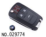 别克英朗GT汽车3键遥控折叠匙壳