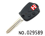 宝腾PROTON汽车2键遥控匙壳(左槽)(无标)