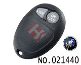别克GL8汽车2键遥控器外壳