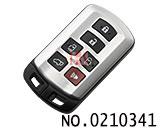 丰田塞纳汽车6键智能匙(专用)