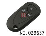 讴歌汽车3键遥控器外壳