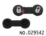 萨搏汽车遥控器2键替换胶皮