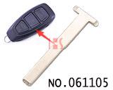 新款福特汽车智能卡T字型小钥匙