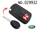 路虎(发现2)汽车二键遥控改装折叠匙壳