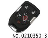 GMC汽车六键智能遥控匙壳(赠送小钥匙)