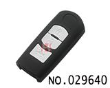 马自达汽车3键智能遥控器外壳