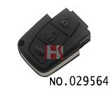 马自达汽车3键遥控器壳(无标)